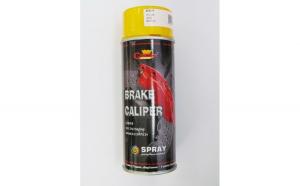 Spray vopsea galben Profesional pentru etrieri Rezistent Termic  +150°C  400ml