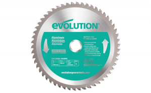 Disc pentru fierastrau circular, taiere aluminiu Evolution EVOEVOBLADEAL-0422, O180 x 20 mm, 54 dinti