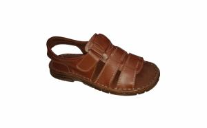 Sandale barbatesti din piele naturala