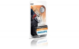 Set 2 Becuri auto Philips T10 Vision -