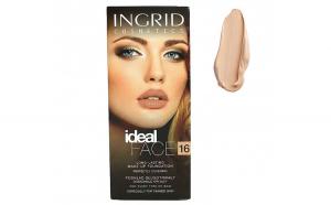 Fond De Ten Ultra-Rezistent Ingrid Cosmetics Ideal Face - 16 Peach, 30 ml
