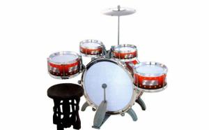 Tobele Jazz Drum pentru copii, 10 piese