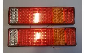 Set 2 Stopuri LED camion 24V cu 5