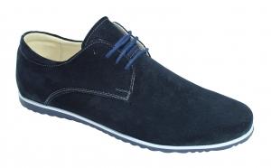 Pantofi din piele naturala intoarsa romanesti