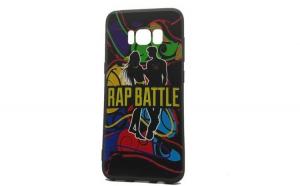 Husa Samsung S8 Flippy Multicolor Mesaj Battle