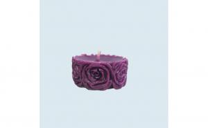 Lumanare decorativa parfumata, cu aroma de Lavanda, 5 cm