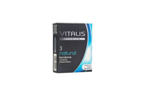 Prezervativ Vitalis Premium Natural, 3 buc.