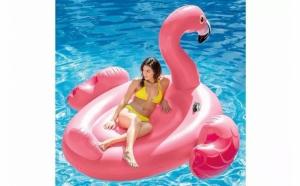 Saltea de apa Flamingo, Promotii racoritoare, Plaja