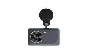 Camera auto DVR RLDV-363 Techstar® FullHD 1080P 12 MPX DISPLAY IPS 3.2 INCH lentila dubla interior/exterior
