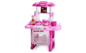 Bucatarie distractiva pentru copii, cu functii luminoase si sonore  - Kitchen Cook