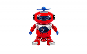 Robot Dancer rotatie 360 cu sunete si lumini