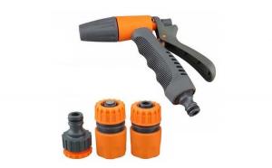 Set pistol pentru udat ajustabil+conectori furtun