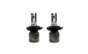 Set 2 becuri LED auto R6, 80W, 4000Lm, 6000k – Slot H4