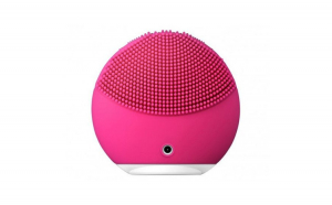 Dispozitiv de curatare faciala mini 2, 8000 oscilatii/minut, 8 viteze, hipoalergenic, Roz