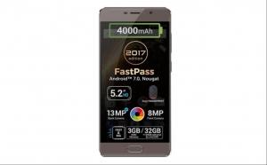 "Telefon mobil Allview P9 Energy Lite 2017, 5.2"", Dual SIM, 3GB RAM, 32GB, 4G, Mocca Gold"