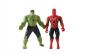 Set 4 figurine Avengers Hulk, Spider-Man, Captain America, IronMan  cu functie de proiectie