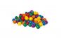 Set 50 bile colorate KotaBaby 7 cm pentru centru joaca