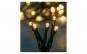 Instalatie 180 led-uri lumina alb cald 12.05 m
