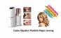 Epilator facial pentru femei, fara durere + bigudiuri cadou