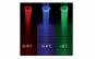 LED in trei culori pentru dus