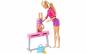 Set de joaca Barbie Cursul de Gimnastica