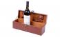 Geanta cadou tip cufar pentru vin, model