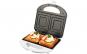 Sandwich maker ECG S 169, 700 W, 2 sandwich-uri patrate, Alb