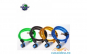 Cablu spiralat antifurt bicicleta cu lacat (1200 x 10 mm) FILMER