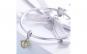 Charm argint 925 cu albinuta  fagure si