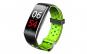 Bratara Fitness Techstar® Q8S Verde  0.96 inch IPS  Alerte  Monitorizare Cardiaca  Tensiune  Oxigenare  Bluetooth 4.0