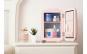 Mini frigider cosmetic roz, 4L