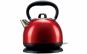 Fierbator electric si ceainic Heinner HEK-2200RDIX, 2200W, 1.7 L, carcasa din inox, rosu