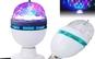 Bec disco LED - Lampa rotativa - Cristal ball