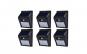 Set format din 6 lampi solare de perete cu senzor de miscare si lumina cu 30 leduri