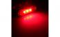 Lampa gabarit laterala, sq008 rosu