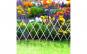 Bordura pat de flori / gard - extensibil, 150 x 50 cm - alb GLZ-11469A