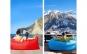Canapea - saltea gonflabila ideala pentru iesirile in aer liber, la doar 99 RON in loc de 250 RON