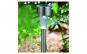 Lampa solara argintie metal 21 cm