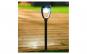 Lampa solara  semiluna neagra 27 cm