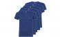 Set de 5 tricouri albastre din bumbac pentru adulti
