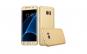 Husa Samsung Galaxy A5 2017 Flippy Full Cover 360 Auriu + Folie de protectie