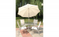 Umbrela de gradina sau terasa antivant 240 cm cadou suport metalic
