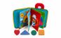 Carte pentru copii mici, Aexya, material textil, 24 x 17 cm, Multicolor