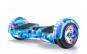 Hoverboard auto Balance, electric, lumini LED pe roti si aripi, 6.5 inch, telecomanda, bluetooth, maner + HUSA