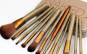 Set 12 pensule profesionale pentru machiaj