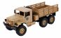 Camion militar cu telecomanda WPL B-16 (1:16, 6x6, 2.4G, LiPo, autonomie 40 min) - Galben