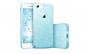 Husa Apple iPhone 7 Plus   iPhone 8 Plus Sclipici Carcasa Spate Albastru Silicon TPU
