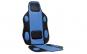 Husa scaun tuning albastru, 4cars