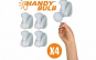 Super becurile Handy Bulb (4 buc)