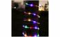 Instalatie de Craciun cu fir din silicon, 10 m, 200 led-uri multicolore cu 10 jocuri de lumini si transformator BEC CU LED-URI FLASH ALBE